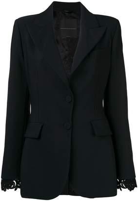 Ermanno Scervino guipure lace cuff blazer