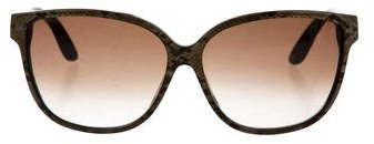 Jimmy Choo Jimmy Choo Oversize Tinted Sunglasses