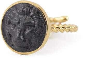 Vintouch Italy - Lion Cameo Ring