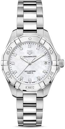 Tag Heuer Aquaracer Diamond Watch, 32mm
