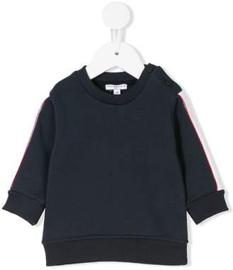 Givenchy Kids striped sleeves sweatshirt