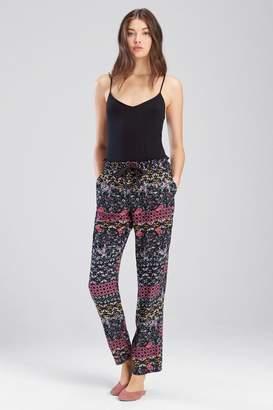 Josie Nomad City Pants Black/ Cosmo Pink