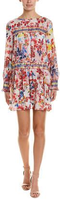 Tanya Taylor Silk Shift Dress