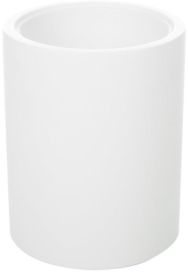 Decor Walther - Stone BER Round Tumbler - White
