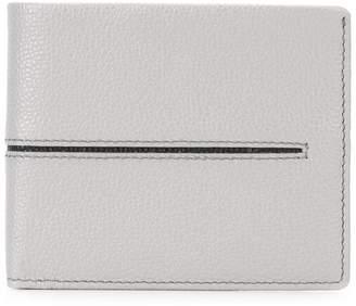 Tod's embossed line bi-fold wallet