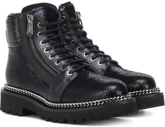 Balmain Ranger sequinned ankle boots
