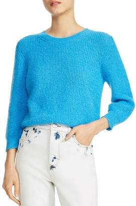 Maje Marcel Ribbed Sweater