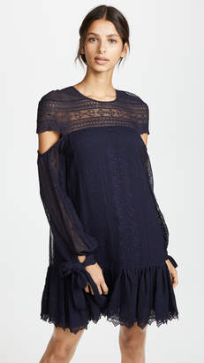 Jonathan Simkhai Cutout Sleeve Dress