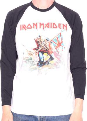 5909cf103f8 Old Skool Hooligans Iron Maiden T Shirt - The Trooper Long Sleeve Retro  Style 100%