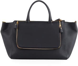 Anya Hindmarch Vere Mini Grained Leather Tote Bag