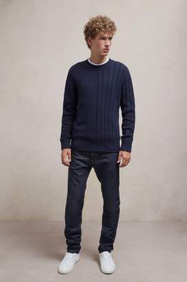 French Connection Cotton Wool Mixed Stitch Jumper