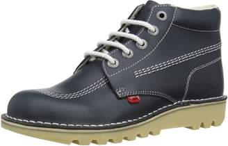 Kickers Mens Kick Hi Core Leather Boots-UK 10.5