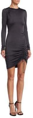 Cushnie et Ochs Elora Drawstring Mini Dress