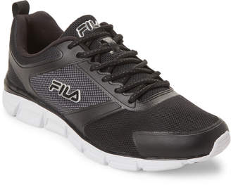 Fila Black & White Memory Steelprint Running Sneakers