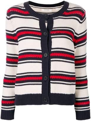 Parker Chinti & striped cardigan