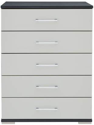 Consort Furniture Limited Fern Ready Assembled 5 Drawer Chest