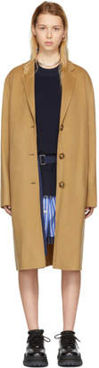 Acne Studios Tan Avalon Double Coat