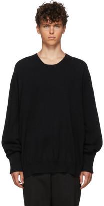 Ann Demeulemeester Black Knitted Sweater