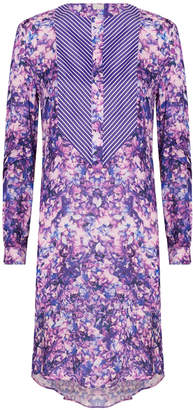 Alexis Mabille Floral Print Dress