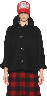 DSQUARED2 Wool & Cashmere Jacket