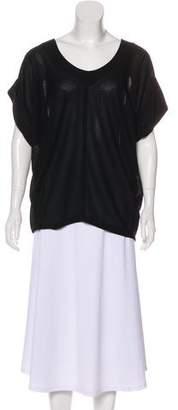 Balenciaga Dolman Sleeve Blouse