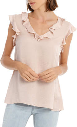 Top with Ruffle Details