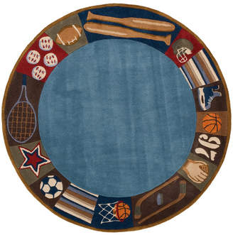 Viv + Rae Johnnie Denim Hand-Tufted Blue Kids Rug Rug $89 thestylecure.com