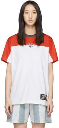 adidas by Alexander Wang Red and Grey Photocopy T-Shirt