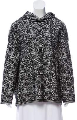 Alaia Adenium Hooded Sweatshirt w/ Tags