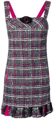 Chanel Pre-Owned 2007's checked tweed dress