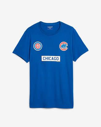 Express Chicago Cubs Short Sleeve Tee