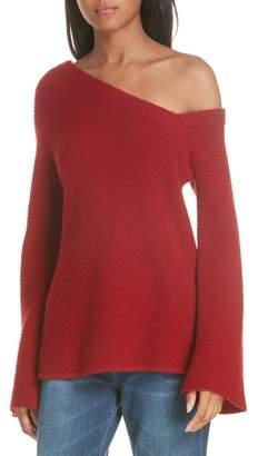 A.L.C. (エーエルシー) - A.L.C. Charly Wool & Cashmere One-Shoulder Sweater