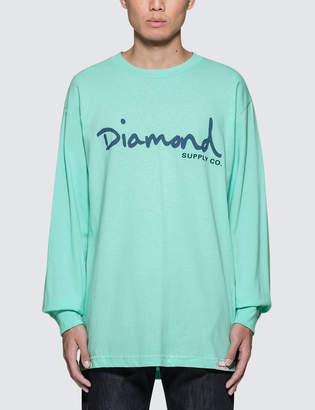 Diamond Supply Co. OG Script L/S T-Shirt