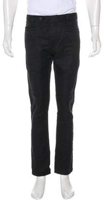 Bottega Veneta Linen-Blend Biker Pants w/ Tags