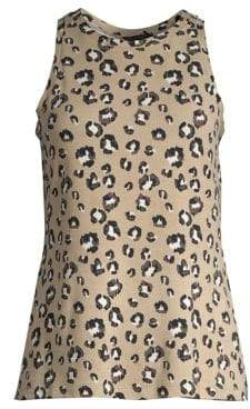 Saks Fifth Avenue COLLECTION Hattie French Terry Tank