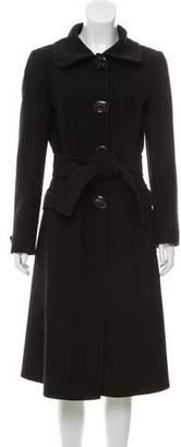 Dolce & Gabbana Wool Long Coat
