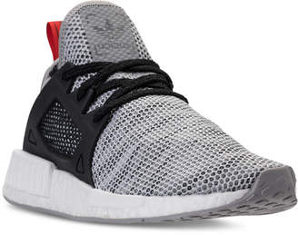 adidas Men's NMD XR1 Primeknit Casual Sneakers from Finish Line $140 thestylecure.com