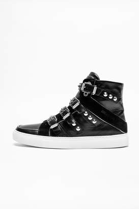 Zadig & Voltaire Zv1747 High Buckle Sneakers