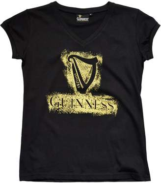 Guinness Harp V-Neck Ladies T-Shirt (XXX-Large)