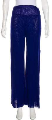 Fuzzi High-Rise Wide-Leg Pants