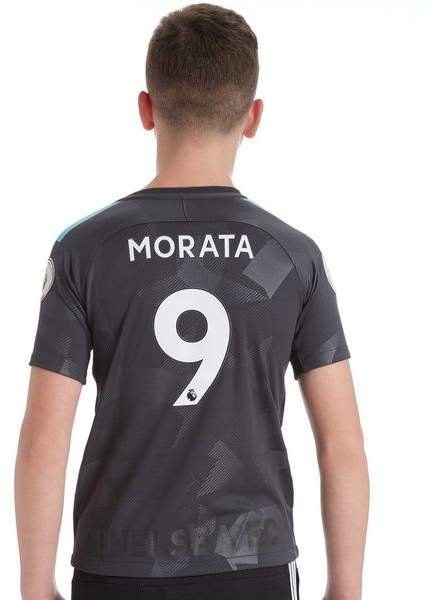 Chelsea FC Third 2017/18 Morata #9 Shirt Junior