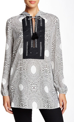 L.A.M.B. Daishiki Embroidered Blouse $350 thestylecure.com