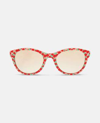 Stella McCartney cherries round sunglasses