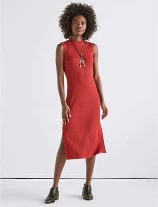 Lucky Brand RIBBED KNIT DRESS