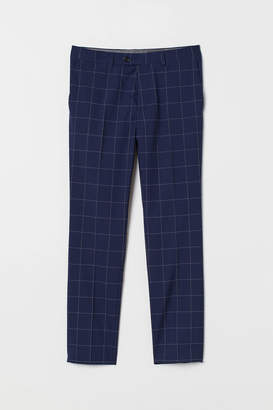 Checked trousers Skinny Fit