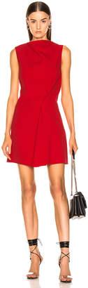 Victoria Beckham Side Drape Tunic Dress in Candy | FWRD