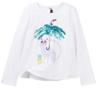 Catimini Graphic Tee (Little Girls & Big Girls)