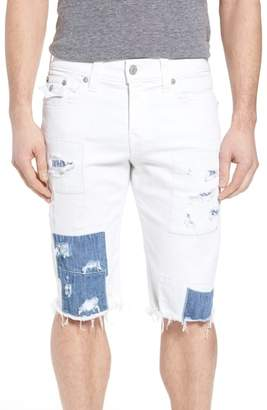 True Religion Brand Jeans Ricky Relaxed Fit Denim Shorts