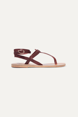 Ancient Greek Sandals Estia Leather Sandals - Brown