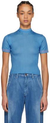 Acne Studios Blue Sisian Lingerie Pullover